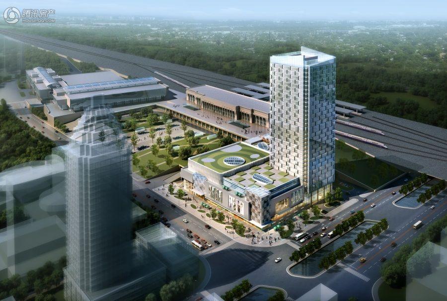 鼎信大厦-中韩自贸港  效果图20151009