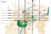 黄龙溪谷交通图