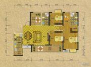 阳光蓝山郡三期3室2厅2卫138平方米户型图