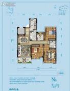 佳源湘湖印象4室2厅2卫112平方米户型图