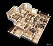 宏升物华天宝五期3室2厅1卫112平方米户型图