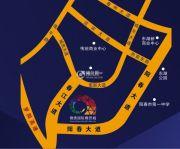 锦绣国际商贸城交通图
