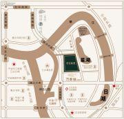 中国铁建青秀澜湾交通图
