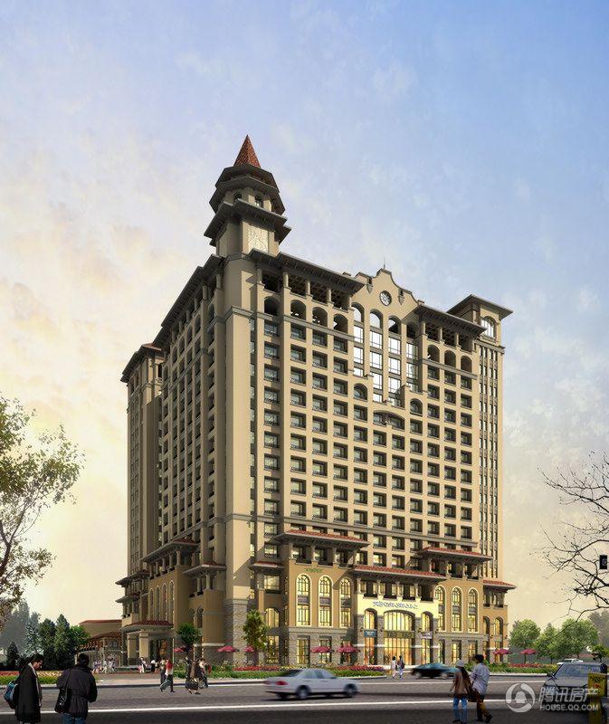 花香漫城公寓楼(南侧)效果图
