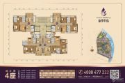 金沙半岛3室2厅2卫89--112平方米户型图