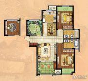 新城・香溢俊园2室2厅2卫120平方米户型图
