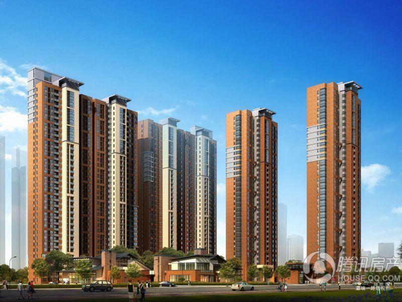 高科绿水东城二期规划效果图