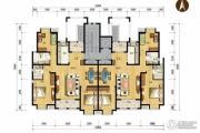 天津海航城3室2厅2卫136平方米户型图