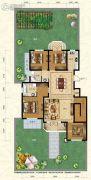 保利叶语4室2厅2卫137平方米户型图