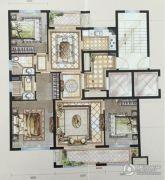 中梁・首府壹号3室2厅2卫115平方米户型图