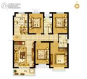 枣强・新天地4室2厅2卫134平方米户型图