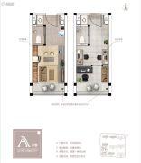融信(郑州)城市之窗1室1厅1卫22平方米户型图