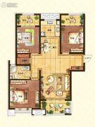 济南世茂天城3室2厅1卫121平方米户型图