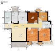 东岭国金中心3室0厅2卫103平方米户型图