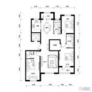 汉森香榭里3室2厅3卫161平方米户型图