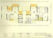 新澳城市花园3室2厅1卫90--100平方米户型图