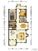 水静界1室2厅1卫285平方米户型图