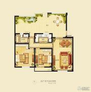 金洋奥澜半岛2室1厅1卫85平方米户型图