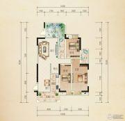 熙岸尚城二期3室2厅2卫150--153平方米户型图