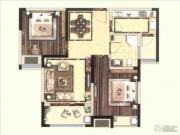 保利海德公馆2室2厅1卫0平方米户型图