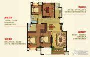 明月湾4室2厅2卫133--144平方米户型图