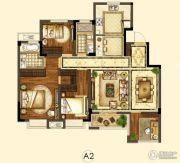 世茂招商语山4室2厅2卫110平方米户型图
