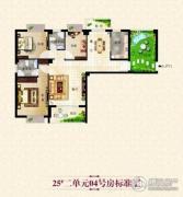 塞纳豪庭3室2厅2卫0平方米户型图