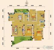 富林双泉佳园4室2厅2卫0平方米户型图