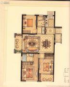 华鸿・艺墅3室2厅2卫108平方米户型图