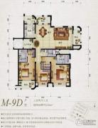 保利天骄3室2厅3卫182平方米户型图