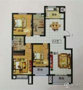 中泓・上林居3室2厅2卫128平方米户型图