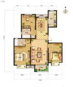 中国铁建・北京山语城0室0厅0卫138平方米户型图