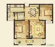 华润橡树湾2室2厅1卫88--99平方米户型图