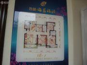 鲁能海蓝福源3室2厅2卫120平方米户型图
