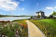 保利湖心岛实景图