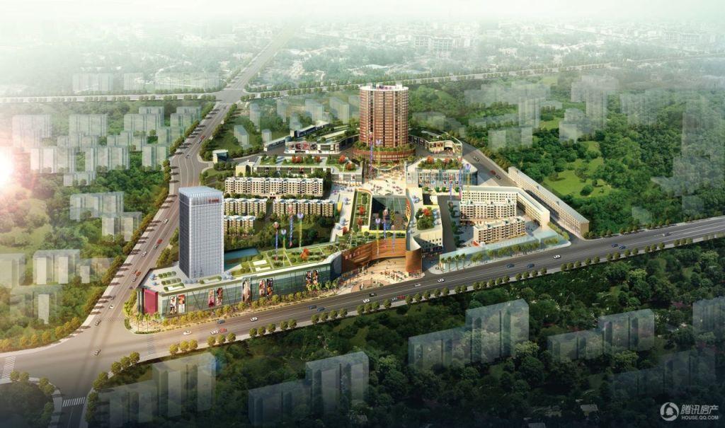 城中央、低密度、高品质江景豪宅