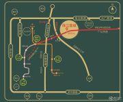 珠江壹城交通图
