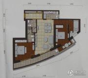 三迪国际公馆3室2厅2卫138平方米户型图