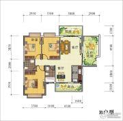 天禾春城3室2厅2卫0平方米户型图