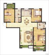 晖祥・江山3室2厅2卫122--123平方米户型图