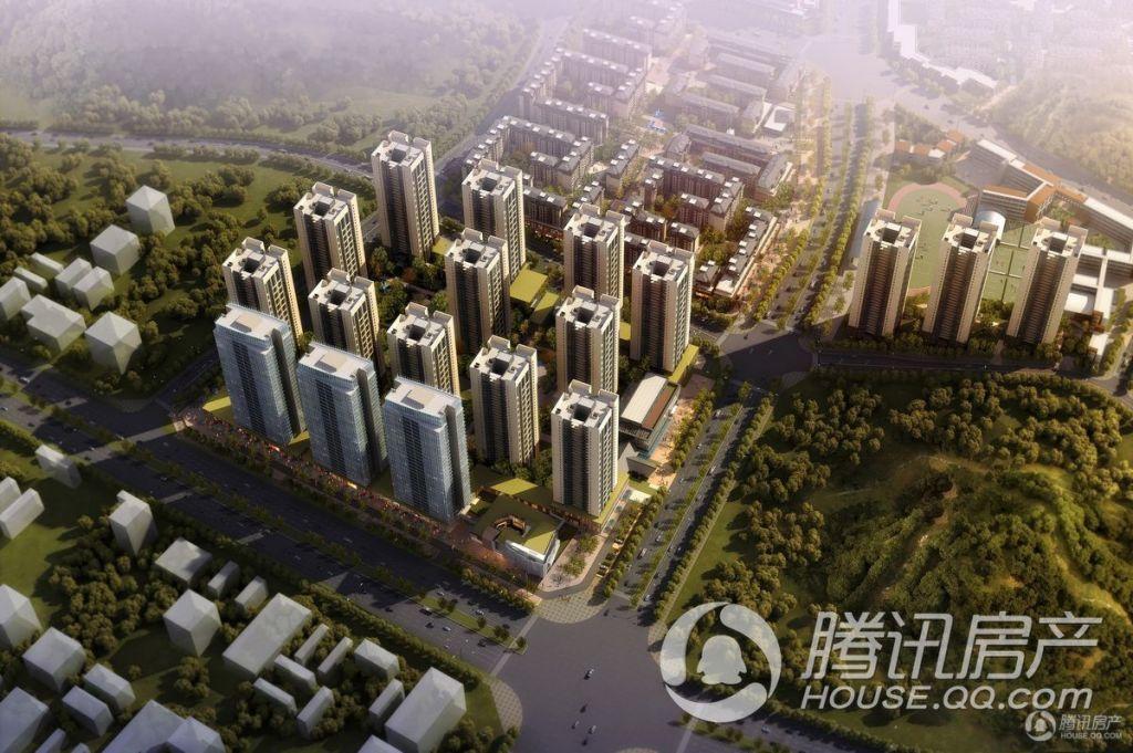 贵阳万科城项目C区——绿叶盎然