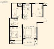 星颐广场3室2厅1卫96平方米户型图