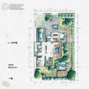 大汉汉园127平方米户型图