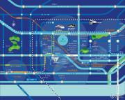 万豪中心交通图