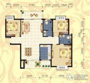 城市绿岛3室2厅2卫125--126平方米户型图