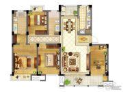 苏宁天御广场4室2厅2卫144平方米户型图