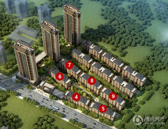 中骏雍景台二期建面127平米户型预计月底推出