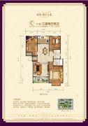 瑞璞君悦兰庭3室2厅2卫122--125平方米户型图