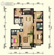 金宇名庭4室2厅2卫0平方米户型图