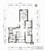 当代MOMA沿湖城3室2厅2卫122平方米户型图
